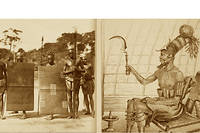 Le roi Mumza et les cannibales Mangbetu.