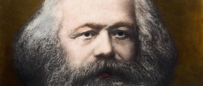 Portrait de Karl Marx (1818-1883) en 1878.