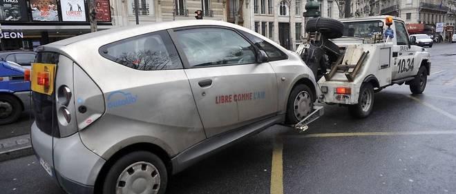 Les 3 244 places de stationnement Autolib' à Paris seront réservées aux Franciliens propriétaires d'un véhicule électrique ou utilisant un véhicule électrique en autopartage.