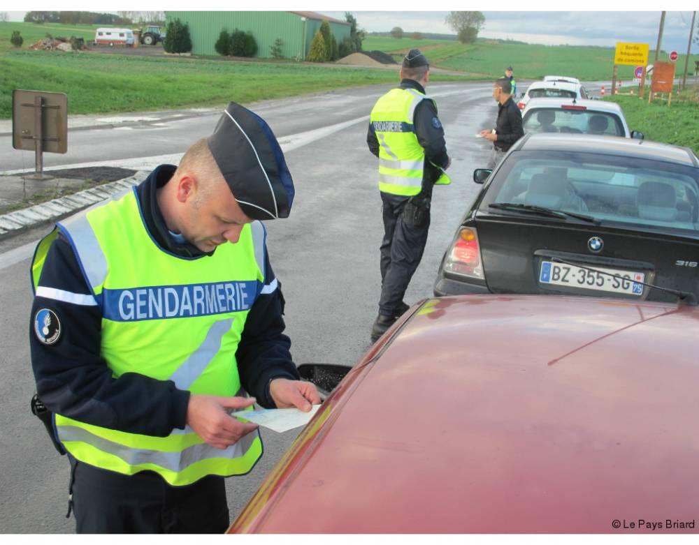 La peur du gendarme existe mais pas pour tout le monde ©  Le Pays Briard