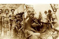 Cannibales des îles Salomon et Marquises