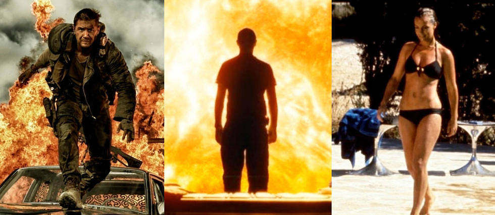 <p>« Mad Max Fury Road »,« Sunshine », « La Piscine »... Sélection de films où il fait chaud, très chaud.</p>