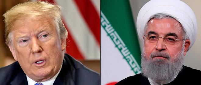 Le ton monte entre l'Iran et les États-Unis.