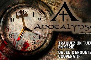 Apocalypse, une enquête collaborative à résoudre chez vous.