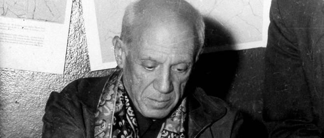 Picasso dans les années 50