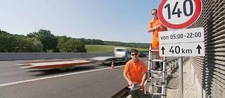 Le 140 km/h en test sur un tronçon d'autoroute en Autriche