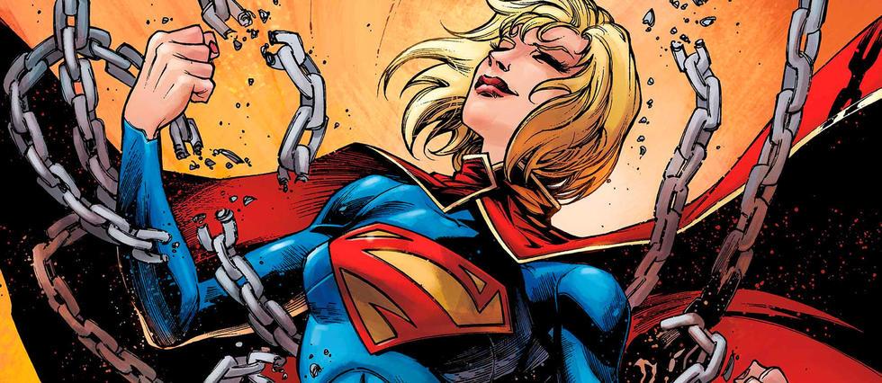 <p>Super-force, super-vitesse... Supergirl.</p>