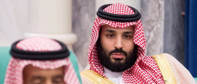 Le prince Mohammed ben Salmane, ici le 11 juin 2018, semble en difficulté dans son pays.