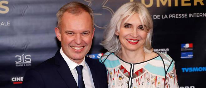 Séverine Servat de Rugy, ici avec son époux François de Rugy, entendait dans un premier temps solliciter l'interdiction du livre d'Emilie Frèche.