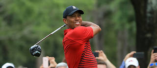 Tiger Woods, vainqueur de 14 titres majeurs, doit remporter dimanche le Championnat PGA, dernière levée du grand chelem de l'année, pour espérer se qualifier aux points.  ©SAM GREENWOOD