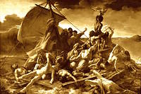 « Le Radeau de La Méduse» par Géricault