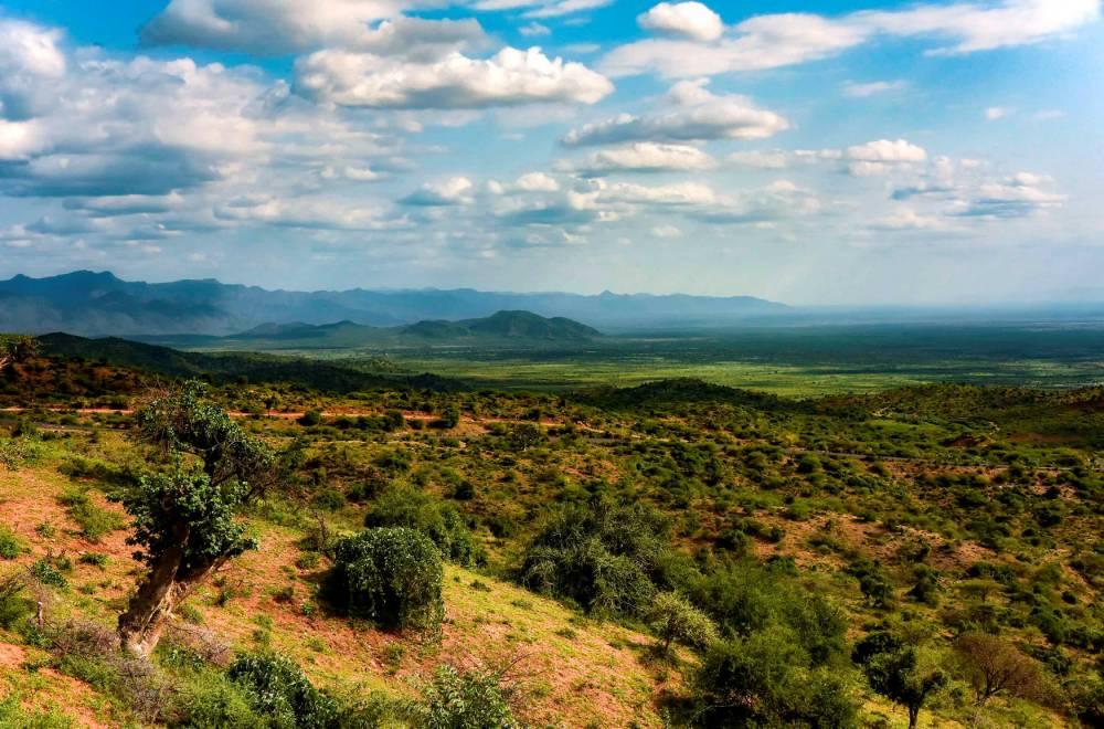 Paysage de la basse vallée de l'Omo.  ©  Rod Waddington/FlickrCC