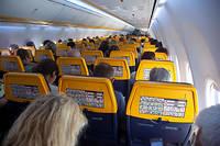 L'intérieur d'un avion de la compagnie Ryanair (photo d'illustration).  ©Nicolas Economou