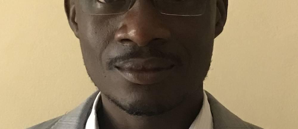 Ulrich Jacques Diasso est un scientifique et spécialiste du climat au sein de l'Agence nationale de la météorologie du Burkina Faso. ©  DR