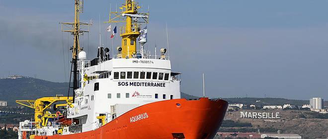 La France, l'Espagne et l'Allemagne notamment ont accepté de prendre en charge une partie des 141 migrants à bord de l'« Aquarius».