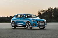 Très largement inspiré du design posé pour le Q8, le style de l'Audi Q3 2018 tranche résolument avec le passé.