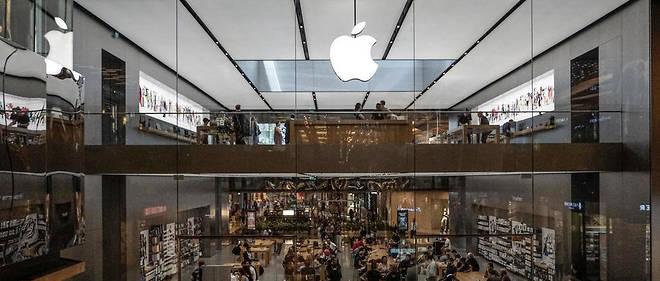 Un Apple Store. Photo d'illustration.