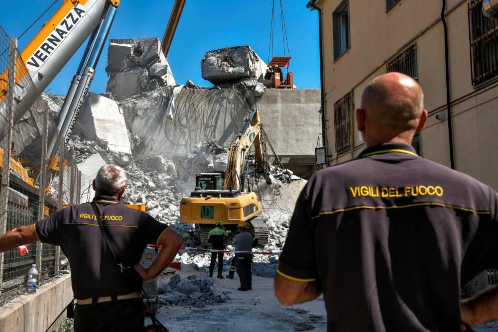 ITALY-ACCIDENT ©  PIERO CRUCIATTI / AFP