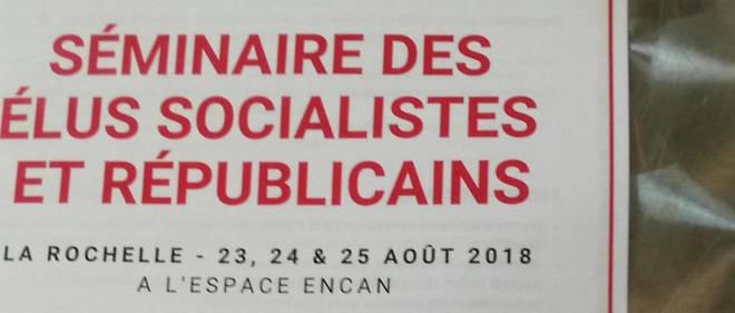 Le séminaire d'été des élus socialistes se tient à La Rochelle du 23 au 25 août.