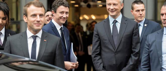 Emmanuel Macron et son ministre des Finances, Bruno Le Maire, s'étaient engagés à réduire le déficit à 2,3 % cette année tout comme en 2019.