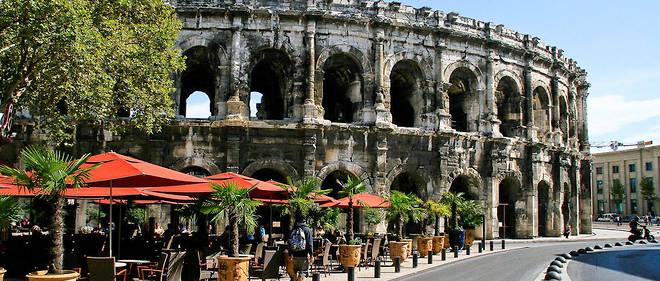 Le rempart romain de Nîmes est particulièrement bien conservé et l'un des plus célèbres vestiges de l'époque romaine. (Les arènes de Nîmes, photo d'illustration.)