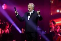 Michel Sardou lors de son ultime concert à Boulogne-Billancourt en avril 2018.  ©Jean-Baptiste Quentin