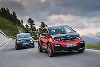 La BMW i3s affiche au premier plan une physionomie plus sportive que le modèle standard mais elle est 8 % moins efficace en aérodynamique.
