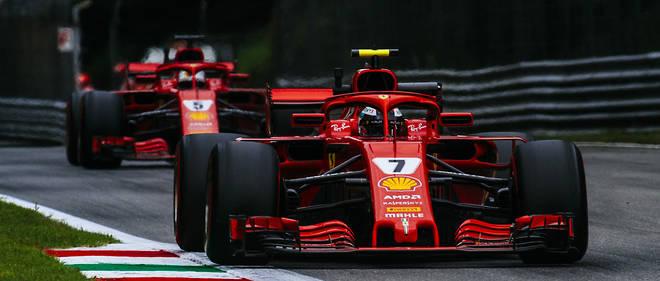 F1 Gp D Italie Raikkonen Un Meteore Devant Les Tifosi Automobile