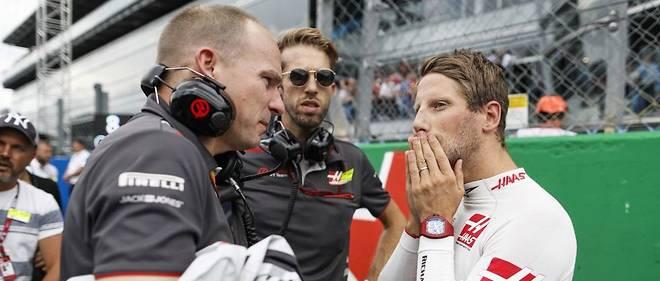 Romain Grosjean Monza 2018