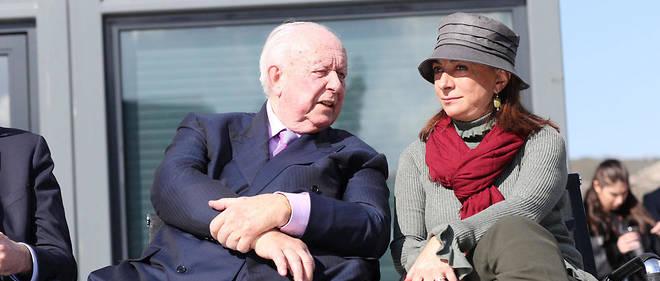 Jean-Claude Gaudin et Martine Vassal le 19 février 2018. La présidente des Bouches-du-Rhône a méticuleusement construit son parcours, sans jamais froisser le maire de Marseille.