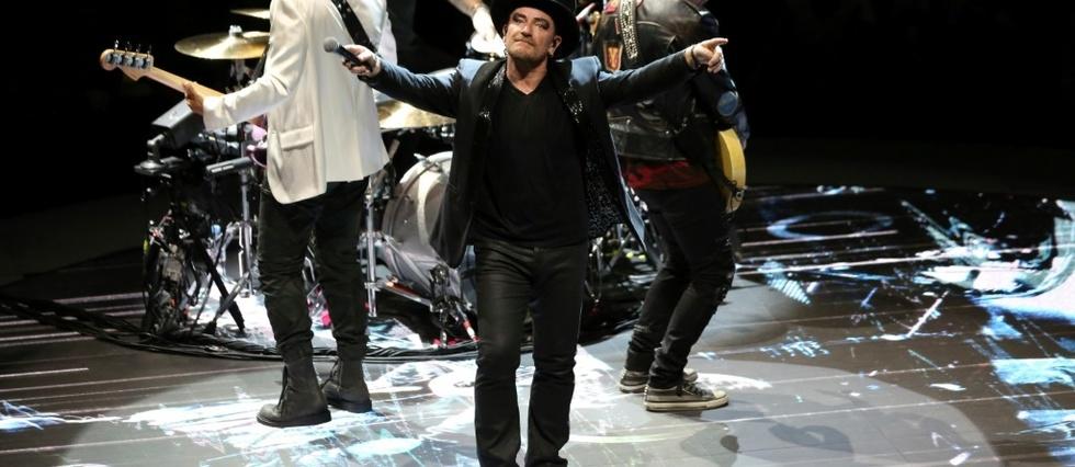 U2 Et Bono N Ont Pas Vraiment Laisse Bercy Sans Voix Le Point