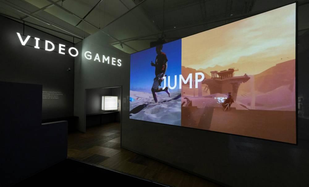Videogames: Design/Play/Disrupt Exhibition, 3rd September 2018 © Peter Kelleher Peter Kelleher