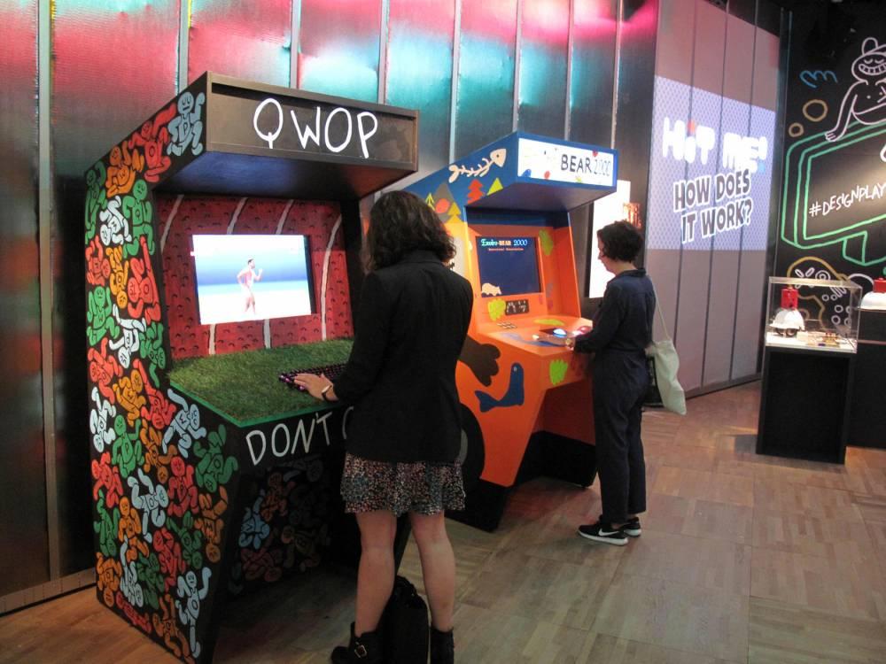 Salle d'arcade au V&A Museum © Lloyd Chéry Lloyd Chéry