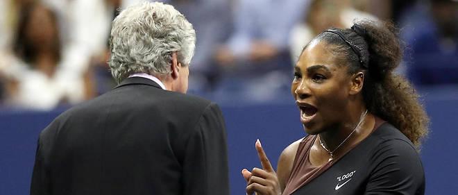 Lors de la finale de l'US Open, une très violente discussion a opposé Serena Williams à l'arbitre.