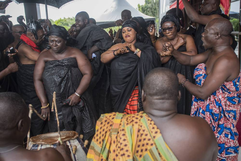 Diplomate de carrière, Kofi Atta Annan est un natif de Kumasi, la capitale du peuple Ashanti dans l'ex-Gold Coast, soit l'actuel Ghana.  ©  AFP / Cristina Aldehuela
