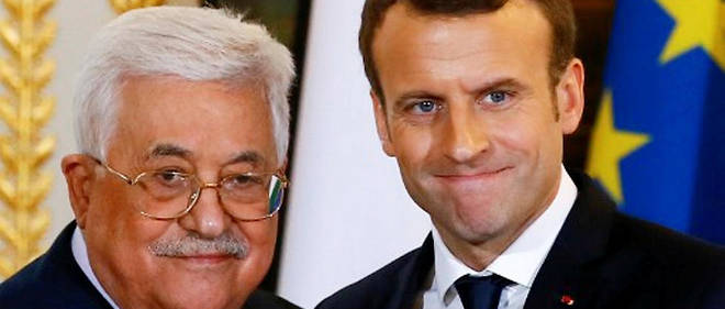 En décembre 2017, le président Abbas a visité Emmanuel Macron pour le convaincre de s'opposer fermement à la reconnaissance de Jérusalem comme capitale d'Israël par l'administration Trump.