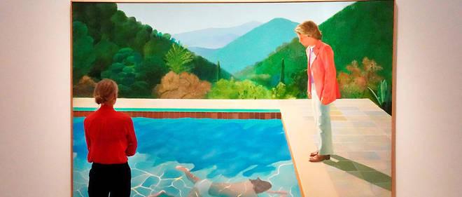 David Hockney Bientot L Artiste Vivant Le Plus Cher Au Monde Le Point