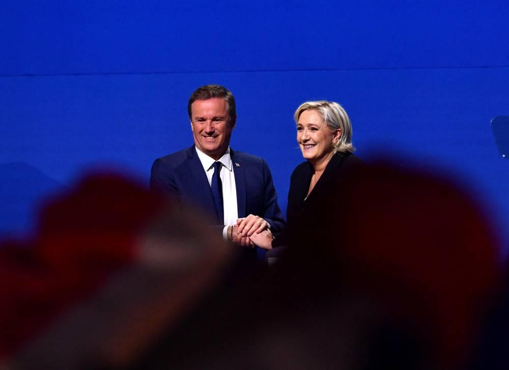 Marine Le Pen Dupont Aignan © Antonio Borga Anadolu Agency