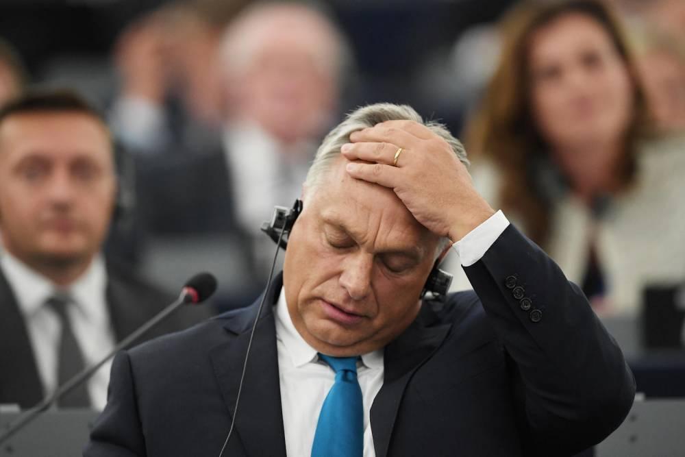 Orban © FREDERICK FLORIN AFP