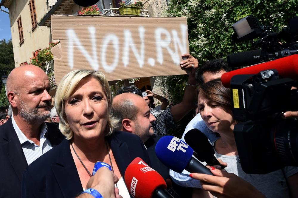 Marine Le Pen © BORIS HORVAT AFP