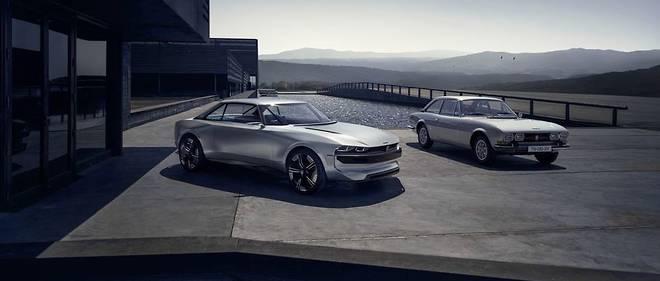 Mondial De L Auto Peugeot E Legend Concept Passe Recompose