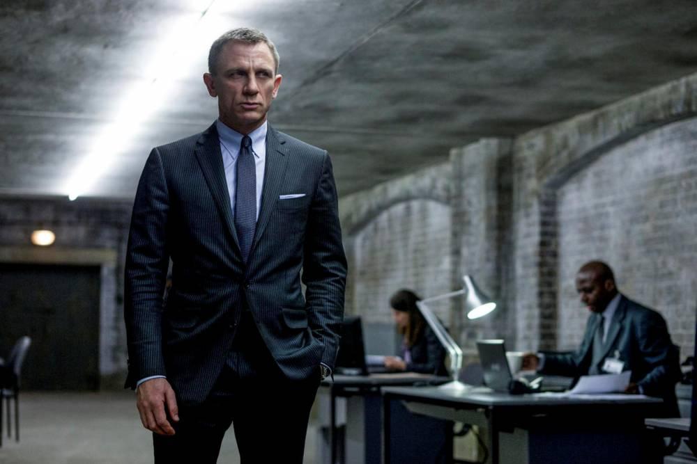 Oscars-James Bond © Francois Duhamel Francois Duhamel / Sony Pictures / ASSOCIATED PRESS