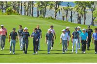 Le signe de reconnaissance des amoureux du golf et d'Audemars Piguet : les initiales AP qu'ils arborent sur la manche.