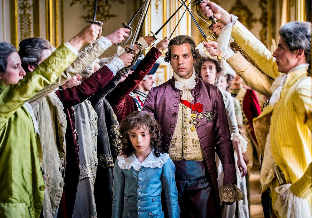 Laurent Lafitte campe LouisXVI dans  «Un peuple et son roi», de Pierre Schoeller.