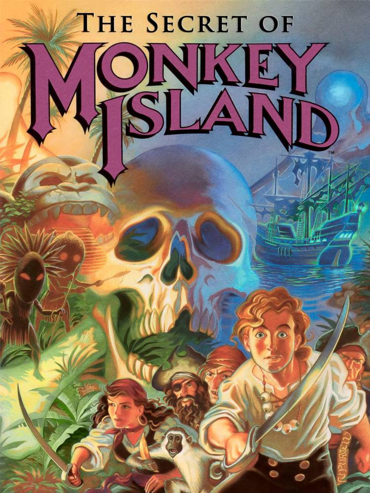The Secret of Monkey Island  ©  LucasArts