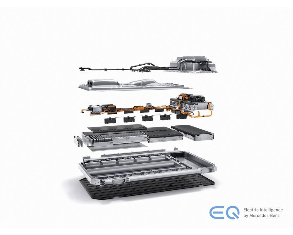 """Mercedes EQC, la première """"tout électrique"""" de l'Etoile © Daimler AG - Global Communications Mercedes-Benz Cars Daimler AG - Global Communications Mercedes-Benz Cars"""