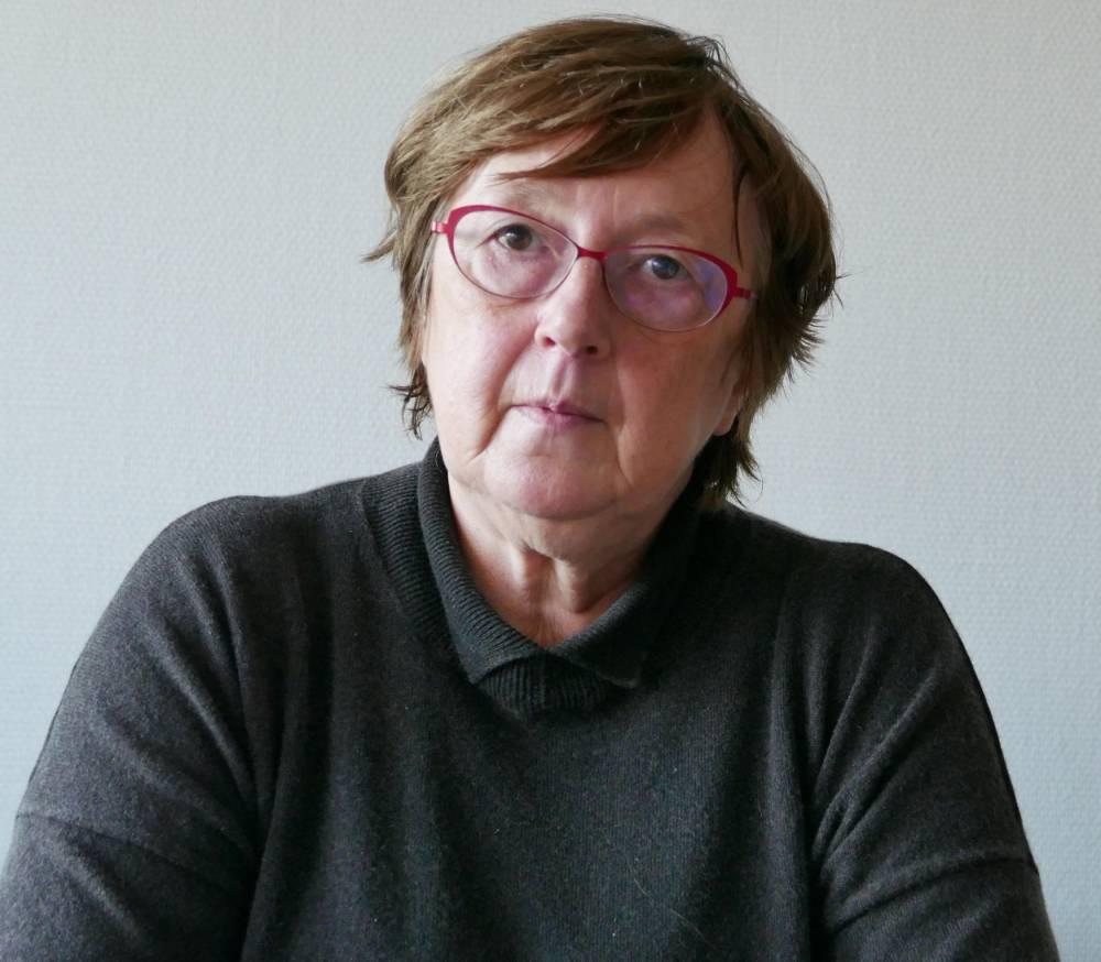 """Jacqueline Herremans ©  Loreline Merelle pour """"Le Point"""""""