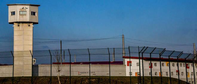 La prison de Vendin-le-Vieil, où est incarcéré le célèbre braqueur.