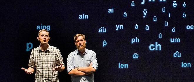 Le duo de professeurs belges interroge l'orthographe française et ses nombreuses aberrations. Un spectacle stimulant et drôle.
