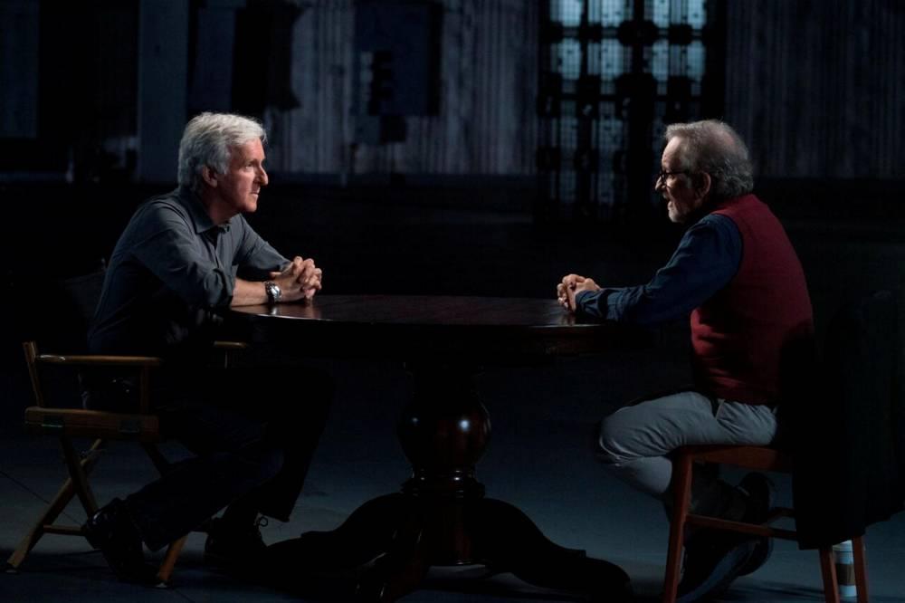James Cameron et Steven Spielberg ©  Sundance tv